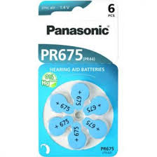 <b>Батарейка</b> Panasonic Zinc Air PR-675 (<b>PR44</b>) <b>батарейки</b> для ...