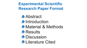 scientific paper writing lab literature search to learn about how to research and write slideplayer style and format of