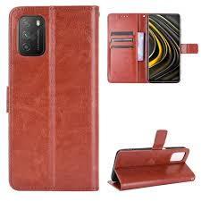 <b>ASLING</b> Phone Case for Xiaomi Mi Poco M3 Brown Cases & Covers ...