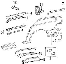 parts com® chrysler channel sliding door partnumber 4717737af 2001 chrysler town and country lx v6 3 3 liter flex side panel