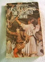 The Farthest Shore, Ursula Le Guin, fantasy, dragons, wizards, magic, books,  Earthsea trilogy