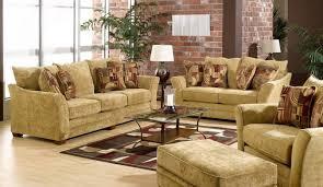sofa with brick walls in rustic living room brick living room furniture