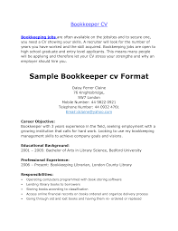 sample resume for bookkeeper accountant cipanewsletter cover letter resumes for bookkeepers examples of resumes for