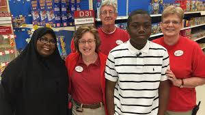 teen in viral picture at raleigh target store gets the job com teen who was the subject of viral target picture meets those who helped him