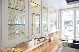 frosted glass cabinet door design kitchen