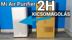 <b>Mi Air Purifier 2H</b> légtisztító KICSOMAGOLÁS - YouTube