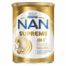 <b>Молочная смесь NAN</b> «<b>Supreme</b>» с рождения 400 г - отзывы ...