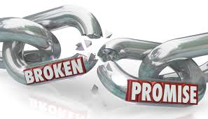 Image result for broken promises