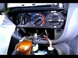 AIR BLEND MOTOR REPLACEMENT - YouTube
