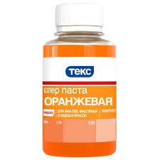 Каталог <b>Паста универсальная</b> оранжевая <b>0.1</b> л ТЕКС от ...