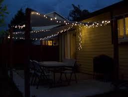 patio light wit lights string backyard string lighting ideas