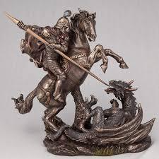 ROZETKA   <b>Статуэтка Veronese</b> Георгий победоносец на коне 21 ...