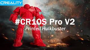 Hulkbuster - <b>Creality CR10S Pro V2</b> 3D Printed DONE - YouTube