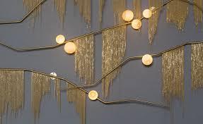 concrete decor show crop on show at nilufar new york based designer lindsey adelman arrives wit