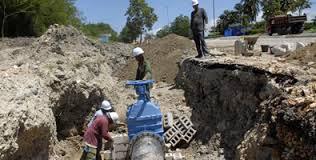 Mejoran conductora de agua en Santa Clara