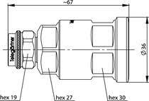 J01020A0153 - <b>N Straight</b> Plug CA-Pro G24