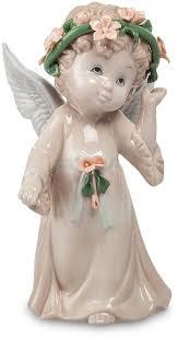 """Статуэтка <b>Pavone</b> """"Ангел"""", цвет: бежевый, розовый, зеленый. <b>JP</b> ..."""