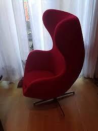 arne jacobsen style egg chair red 7 arne jacobsen style egg