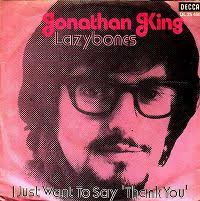 "Jonathan King - Lazybones. 7"" Single Decca DL 25 466 (de) - jonathan_king-lazybones_s"