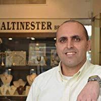 Baltinester Jewish Jewelry Black Sterling Silver and <b>14k Gold Ani</b> ...