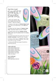 Want to get creative with our Spring <b>Summer Shellac</b> colour? Follow ...