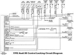audi 80 b3 wiring diagrams audi wiring diagrams online