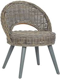 FAMIROSA <b>Sofa Chair Kubu</b> Rattan Grey: Amazon.co.uk: Kitchen ...