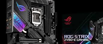 Обзор <b>материнской платы ASUS ROG</b> Strix Z490-E Gaming для ...