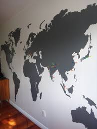 Small Picture The 25 best World map wall ideas on Pinterest Bedroom wallpaper