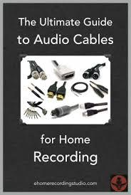 Полный гайд по аудиокабелям для домашних студий звукозаписи
