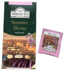 <b>Чай Ahmad Tea</b>, <b>Summer</b> Thyme, черный с чабрецом (25х1,5г)