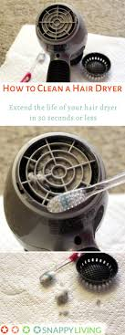 how to clean a hair dryer snappy living hair dryers tend to collect hair and dust in their vents learning how to clean