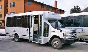 care a van white bus door to door paratransit service operated by door to door services paratransit our partner southeast senior services operates the care a van ride services for seniors age 60 plus and for