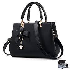URAQT <b>Womens</b> Handbags Shoulder <b>Bags</b>, PU Leather Ladies ...