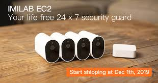 <b>IMILAB EC2</b>: your life free 24 x 7 security guard | Indiegogo