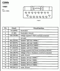 2000 ford taurus stereo wiring diagram 2000 Ford Explorer Radio Wiring Diagram 2000 ford taurus radio wiring schematic wiring diagram 2000 ford explorer sport radio wiring diagram
