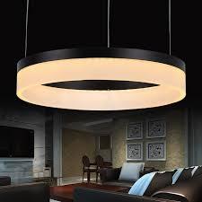 led pendant lights lamps living room lights modern restaurant pendant lamps fashion circle lighting led 6000k pendant lighting living room