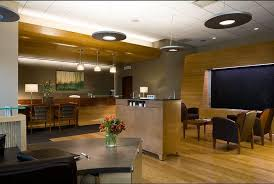 interior build out of a 12236 square foot bank the bank build out included high end finishes and an open floor plan with executive offices and conference bank and office interiors