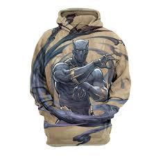 2019 The <b>Avengers</b> Panther <b>3D</b> Print <b>Mens Sweatshirts</b> Fashion ...