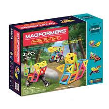 <b>Магнитный конструктор Magformers Magic</b> Pop Set (25 дет ...
