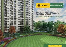 l t realty hebbal raintree boulevard north bangalore new launch l t realty hebbal raintree boulevard