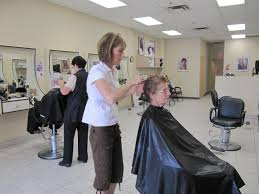 haircrafters style on a budget keeping cool a hot style salon manager patty customer linda haircrafters
