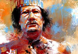 Resultado de imagem para Kaddafi