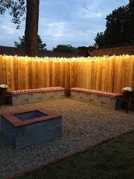 pergola terrace seating string lights patio lighting