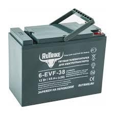 <b>Тяговый гелевый аккумулятор RuTrike</b> 6-EVF-38 (12В) 45 А/ч
