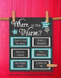 school nurse gift nurse art poster printable art school nurse office poster nursing door decoration art print instant download aaron office door decorated