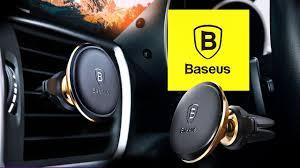 Uchwyt samochodowy <b>BASEUS Magnetic Air</b> Vent - prezentacja ...