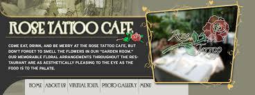 <b>Rose Tattoo</b>: Menu