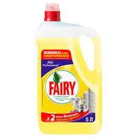 <b>Средство для</b> мытья посуды <b>Fairy</b> Сочный лимон 5 л – выгодная ...