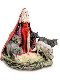 Статуэтка ''<b>Девушка И Волки</b>'' Veronese 4236694 в интернет ...